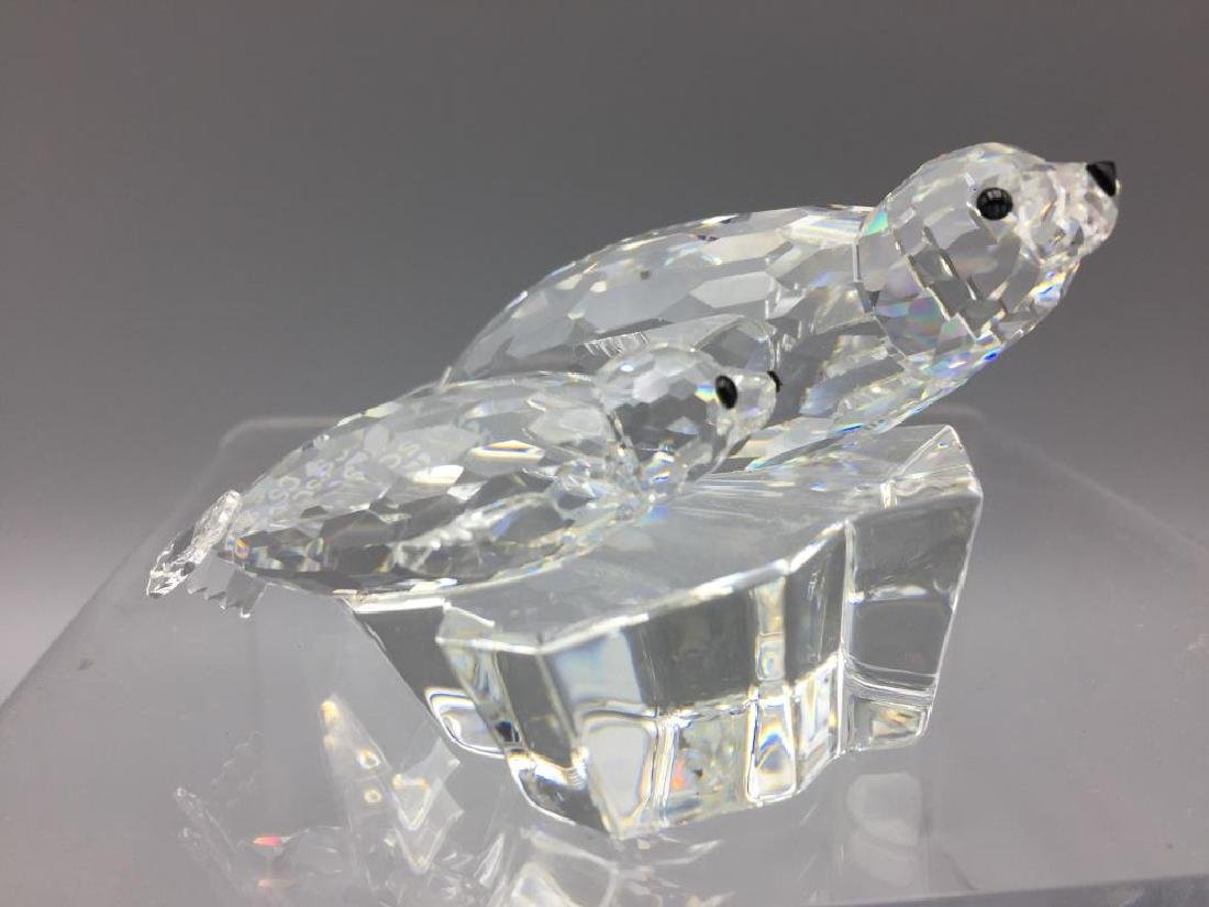 Swarovski mother and baby seal - 3