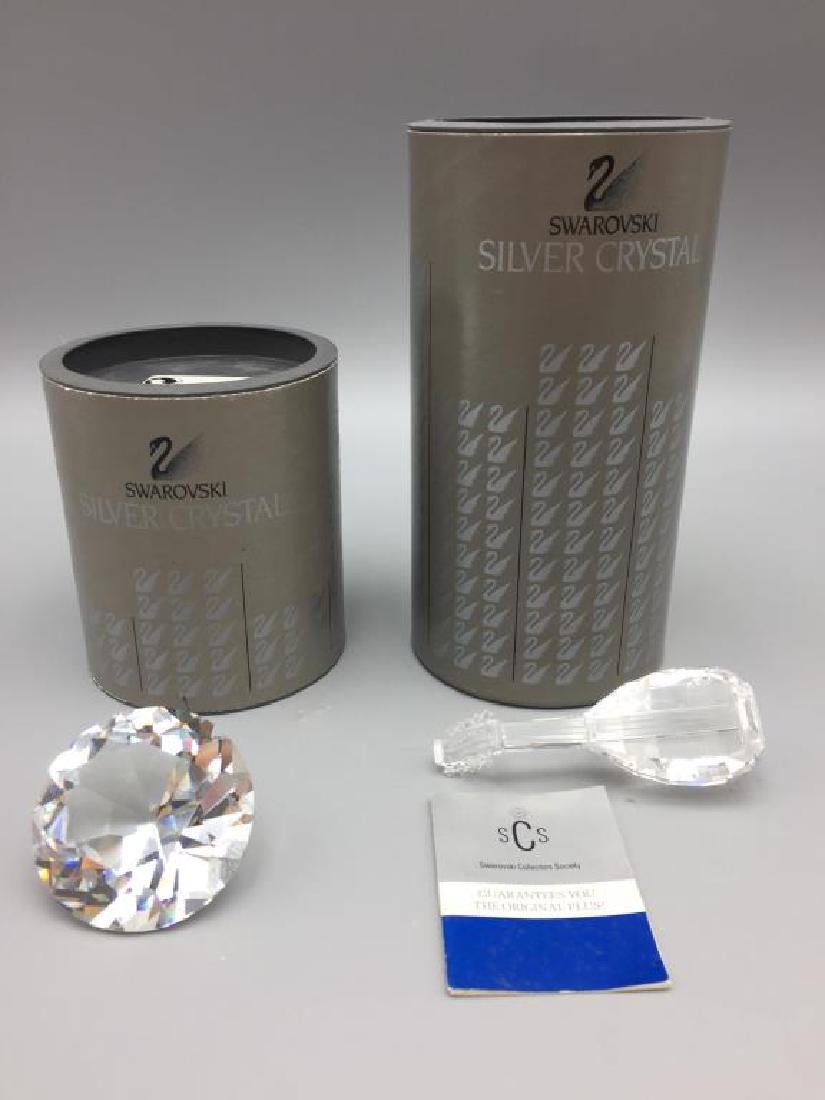 Lot of 2 Swarovski Crystal items;