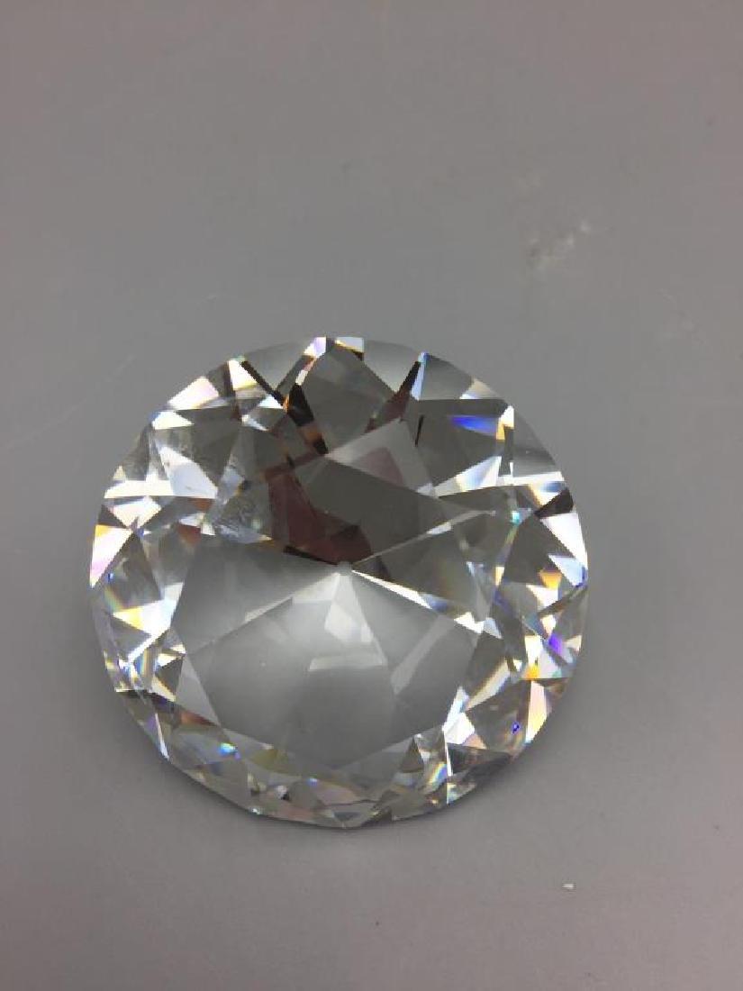 Lot of 2 Swarovski Crystal items; - 2