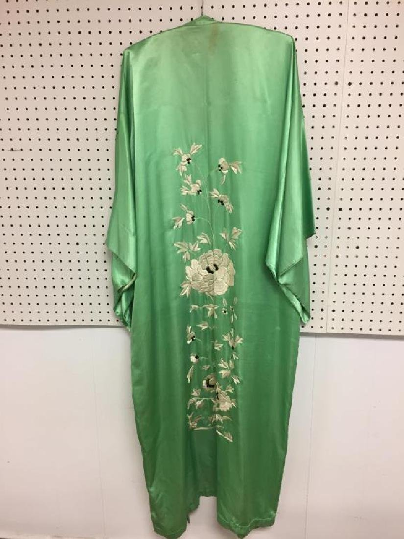 Lot of two silk Japanese style garments - 6