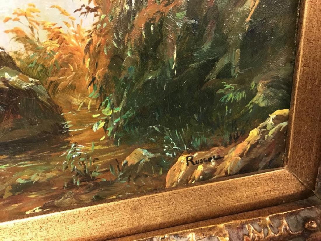 Painting of lake - 2