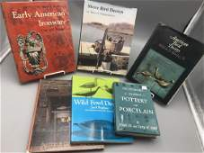Lot of six bird decoy and other books