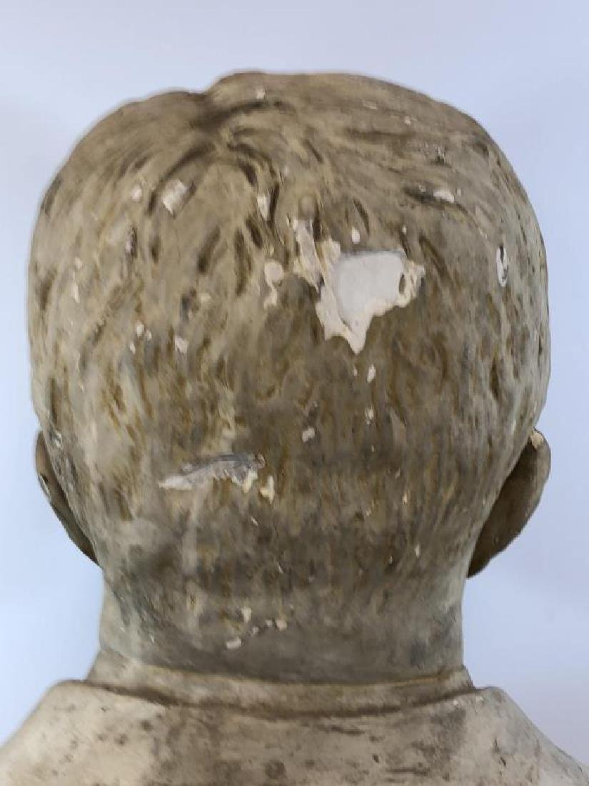 Plaster bust of Theodore Roosevelt; - 8