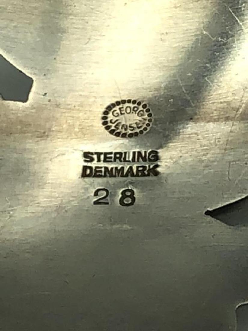 Georg Jensen sterling brooch - 3