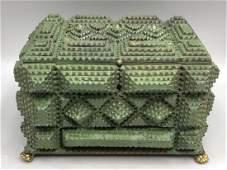 Tramp Art Sewing Box;