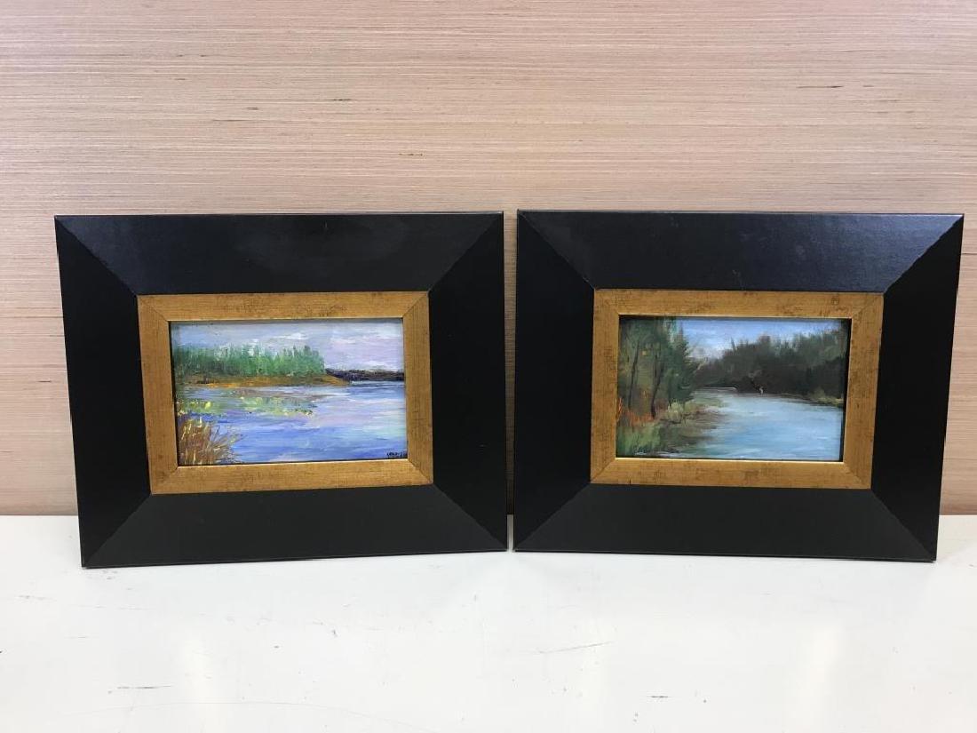 2 Ben Marcune paintings