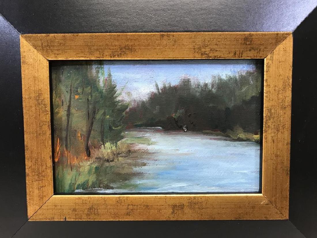 2 Ben Marcune paintings - 2