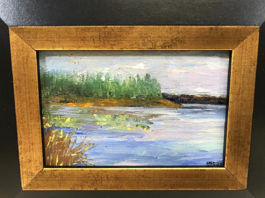 2 Ben Marcune paintings - 3