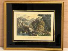 Nature Lithograph by Currier  Ives