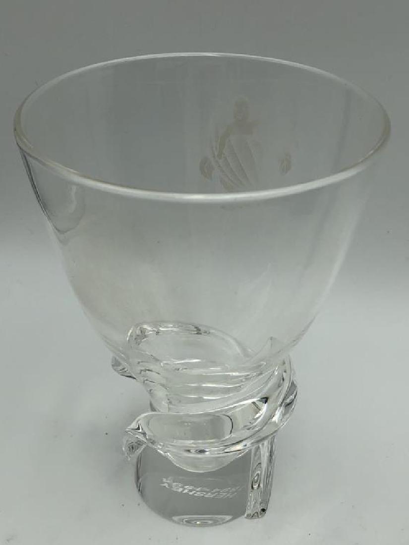 Steuben Art Glass Vase & Decanter - 4