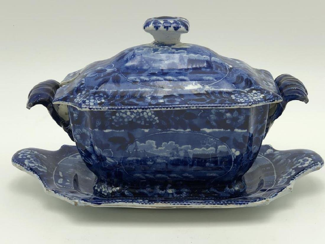 Early Clews Tureen & Platter