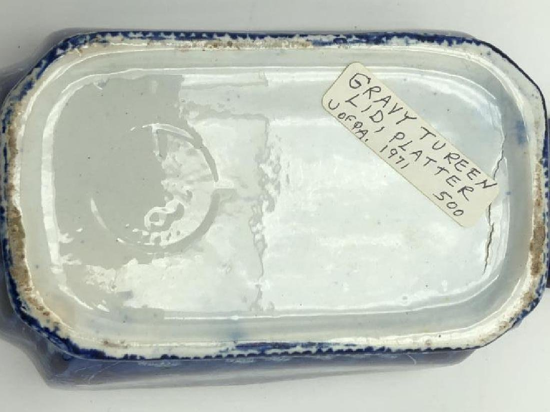 Early Clews Tureen & Platter - 7
