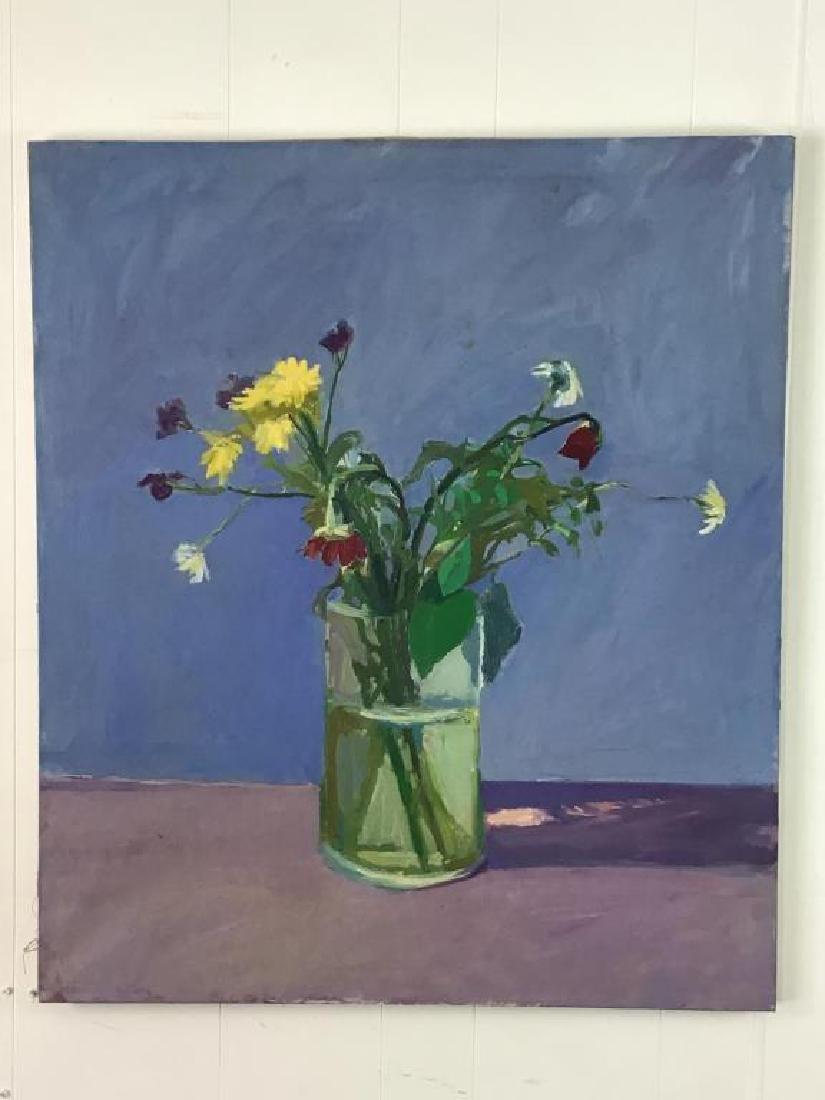Floral Still Life Oil on Canvas