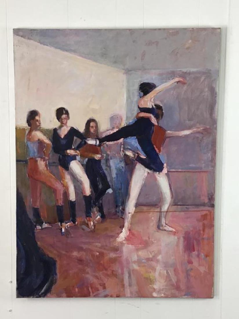 Ballerinas Oil Painting on Canvas