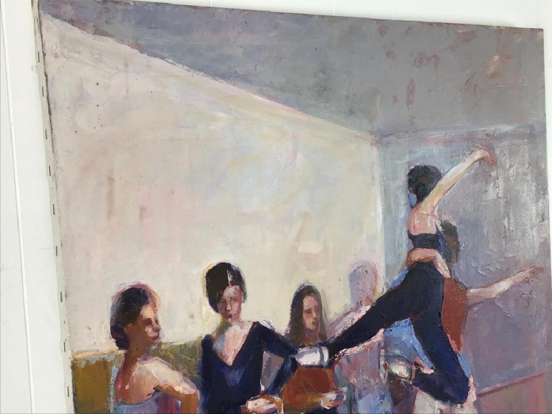 Ballerinas Oil Painting on Canvas - 3