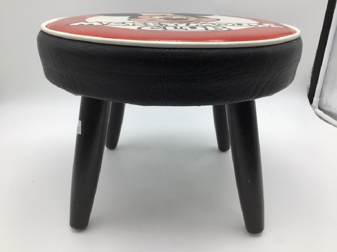 Mickey Mouse Club vintage foot stool - 2