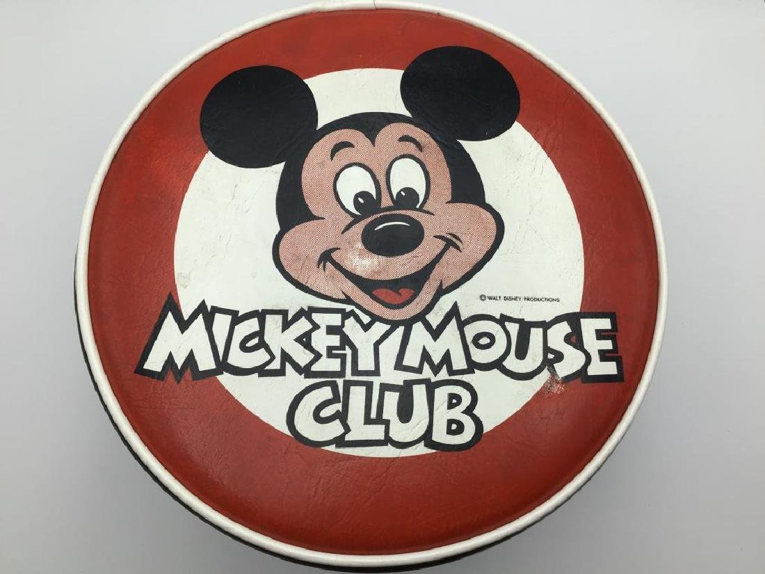 Mickey Mouse Club vintage foot stool - 3