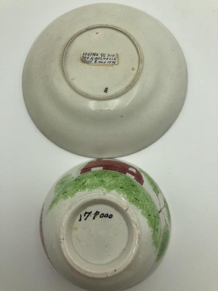 Splatterwear Cup & Saucer Lot - 7