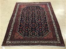 Persian Herati semi antique rug;