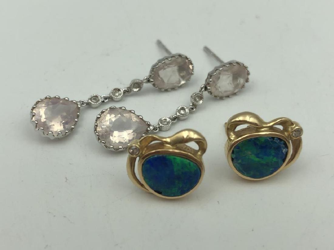 Lot of 2 pair earrings