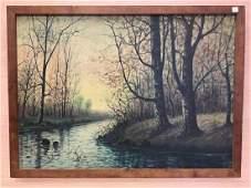 Oil on Canvas by Raphael Senseman