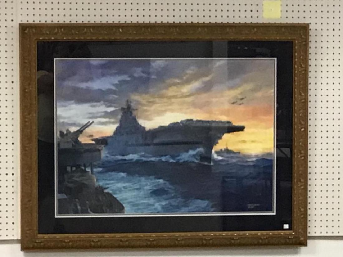 Tom Freeman watercolor