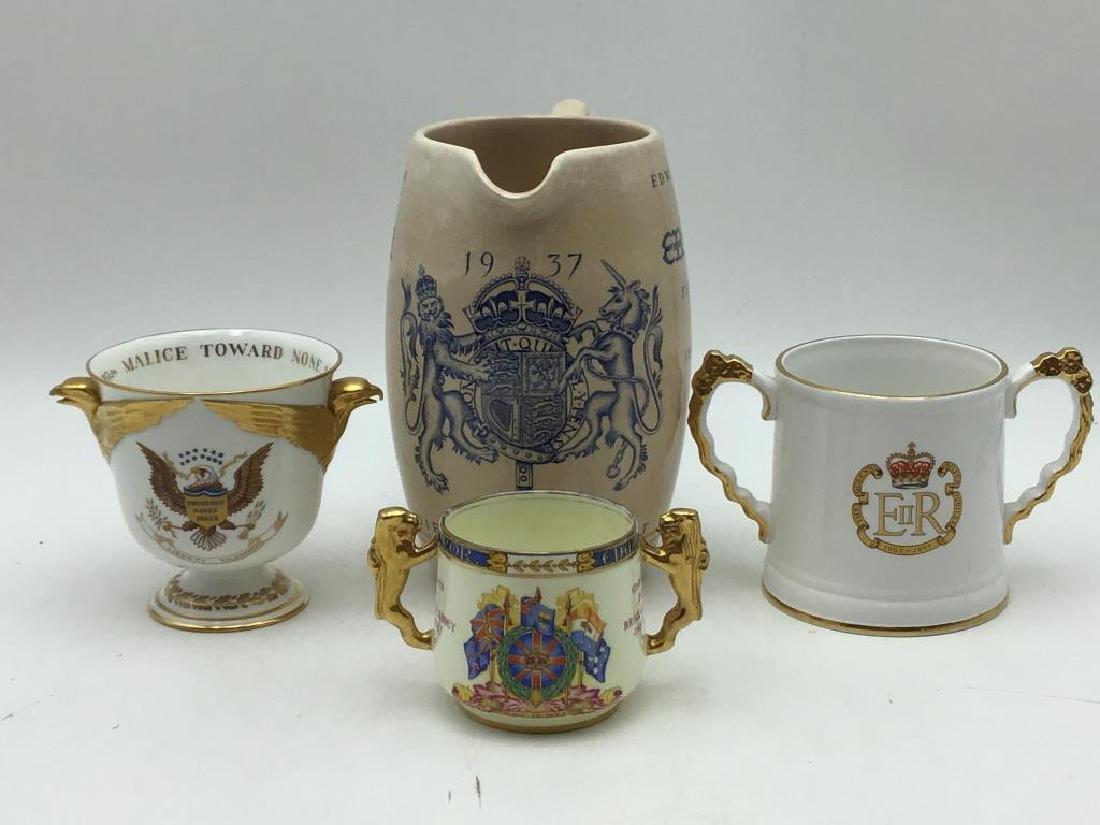 Lot of 4 Coronation items