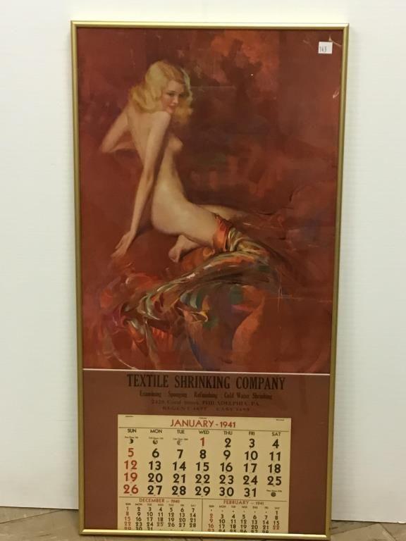 """1941 """"Rose of the Morning"""" Calendar"""