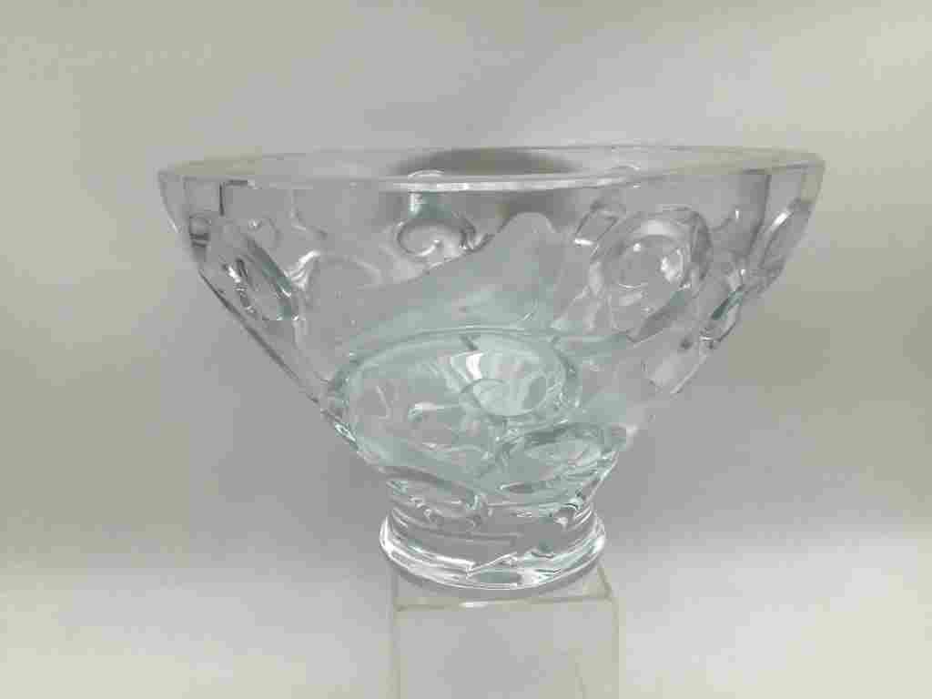 Lalique Weighted Bowl