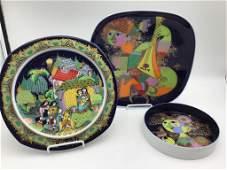 Bjrn Wiinblad Studio Line plates for Rosenthal