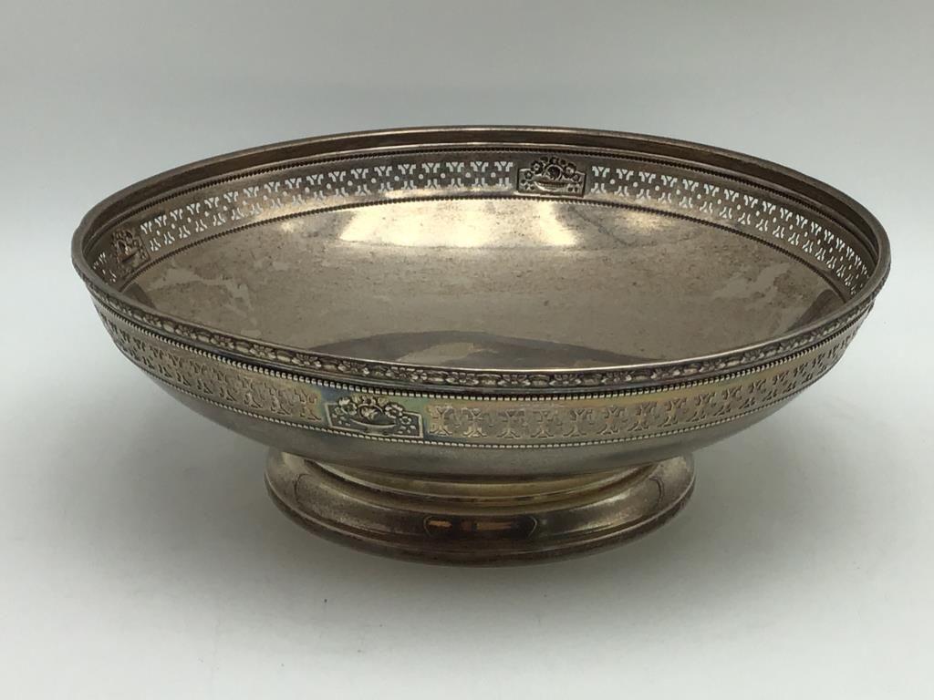 Sterling Pedestal Bowl