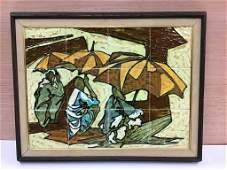 Harris G Strong Ceramic Tile Wall Art