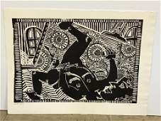 Black and White Print by Kip Frace