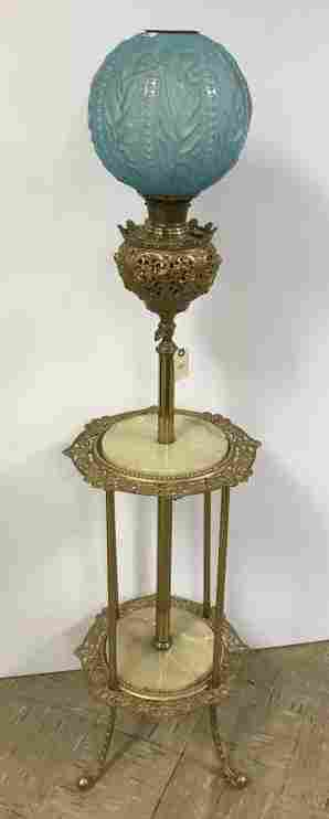 Bradley & Hubbard Victorian piano/parlor lamp