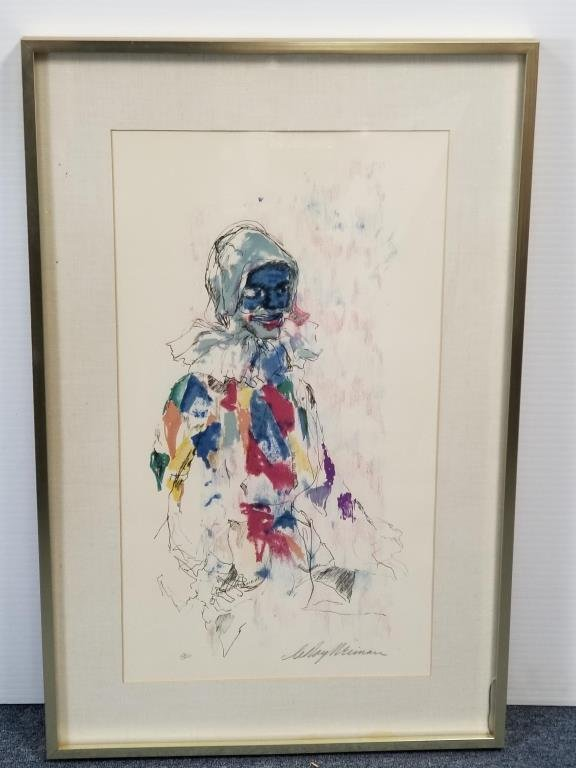 LeRoy Neiman Clown Artist Proof
