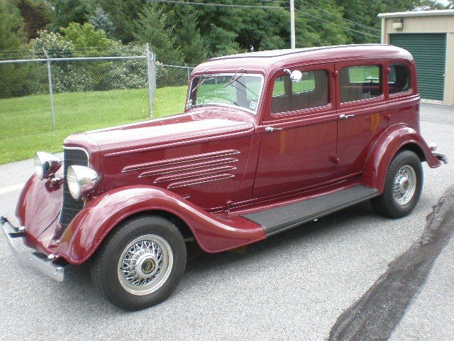 311: 1934 Dodge, All steel body (no fiberglass), 350 Ch