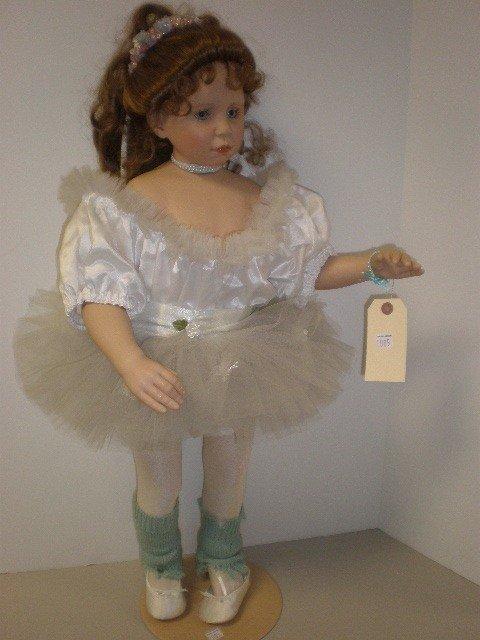 "2005: 28"" vinyl with cloth body ballerina doll, The Gre"