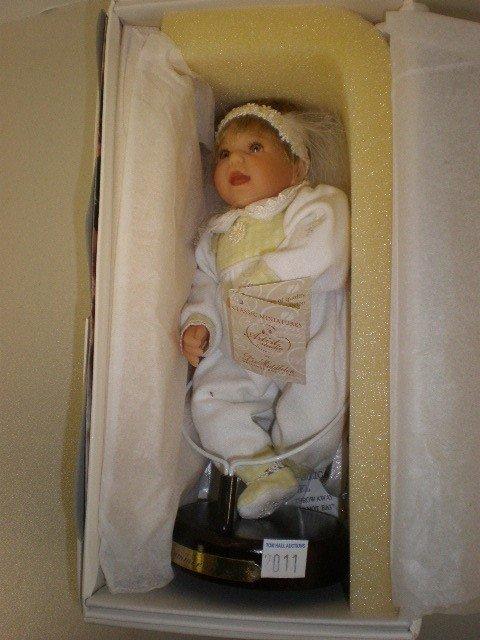 "2011: Lee Midleton Summer Angel 9"" vinyl doll, mint in"