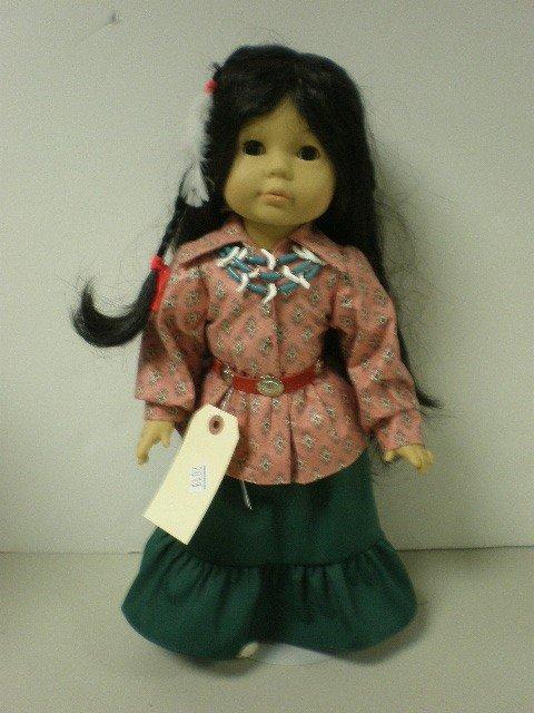 "2013: Gotz Puppe doll vinyl & cloth body doll, 18"" tall"