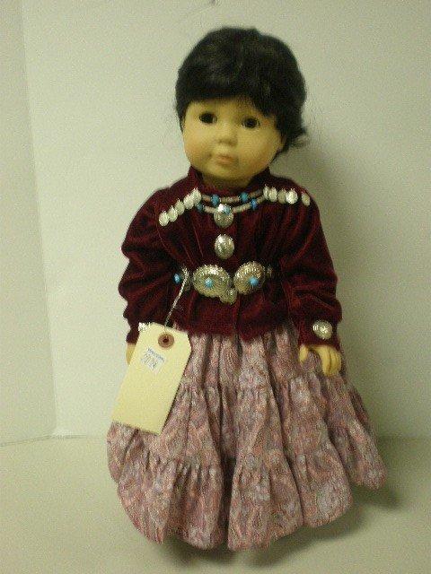 "2014: Gotz Puppe doll vinyl & cloth body doll, 18"" tall"