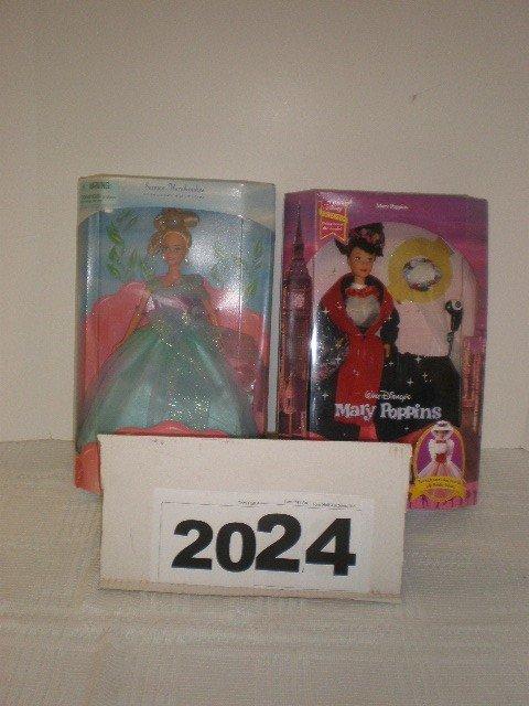 2024: Lot of 2 dolls - Walt Disney Mary Poppins and Sea