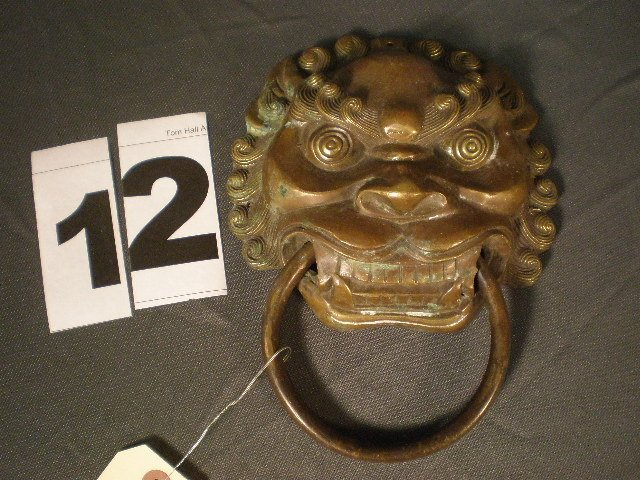 12: Brass Door Knocker