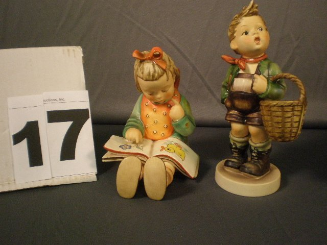 17: Two Hummel Figures Lot