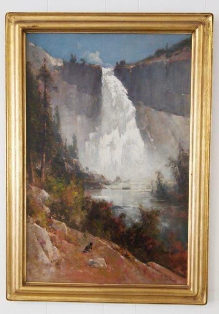 52: Thomas Hill Oil on Canvas