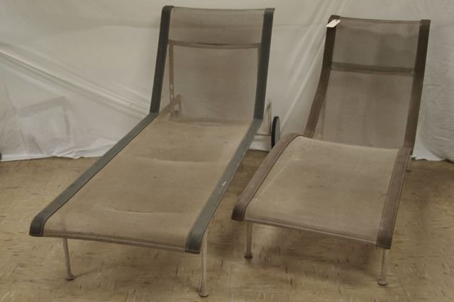 Knoll 2 Chaise Lounges