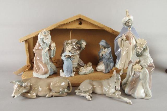 Lladro Nativity Set