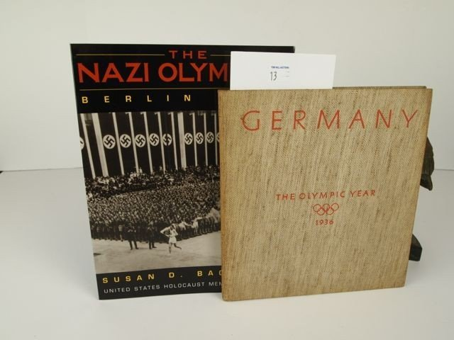 1936 German Olympics Book