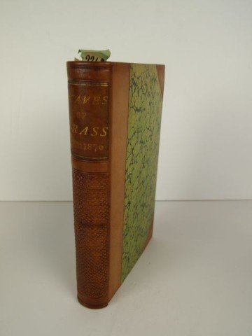 Leaves of Grass, Walt Whitman Signed Book