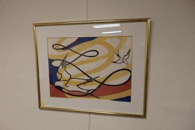 Pencil signed Calder Serigraph