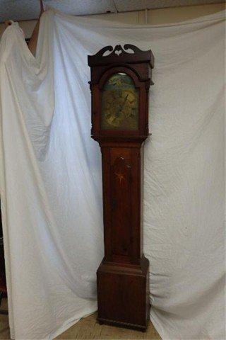 Bucks County Walnut Tall Case Clock